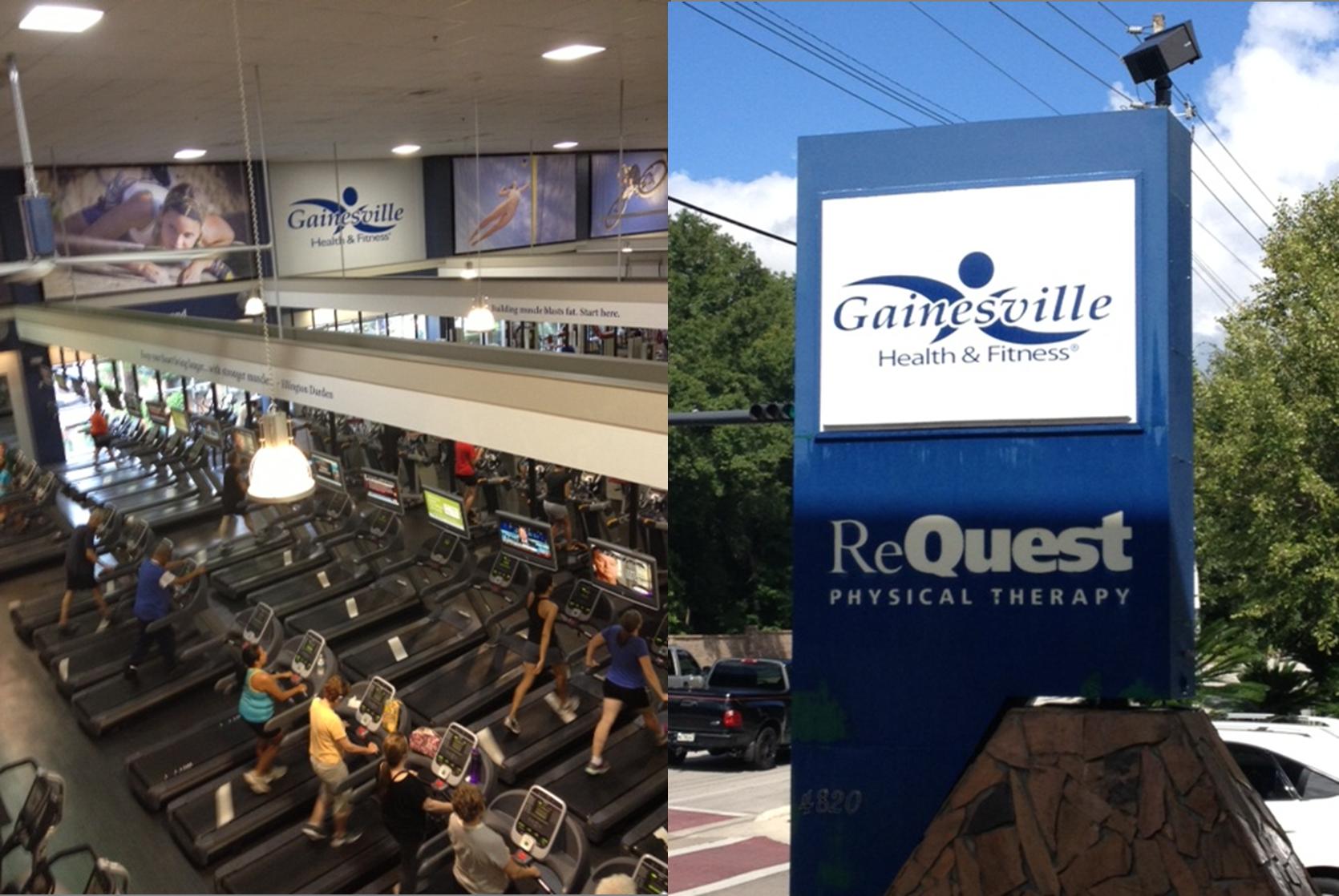 Il diario USA di Gabriella: Gainesville Health & Fitness Center