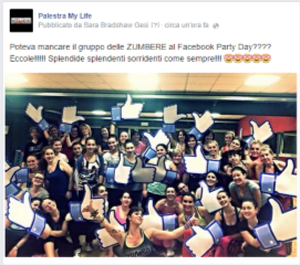 facebook party my life
