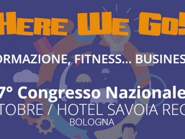 Formazione Fitness: a ottobre l'atteso congresso Here We Go