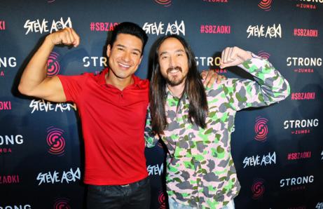"""Il dj Steve Aoki realizza brani in esclusiva per """"Strong Zumba"""""""