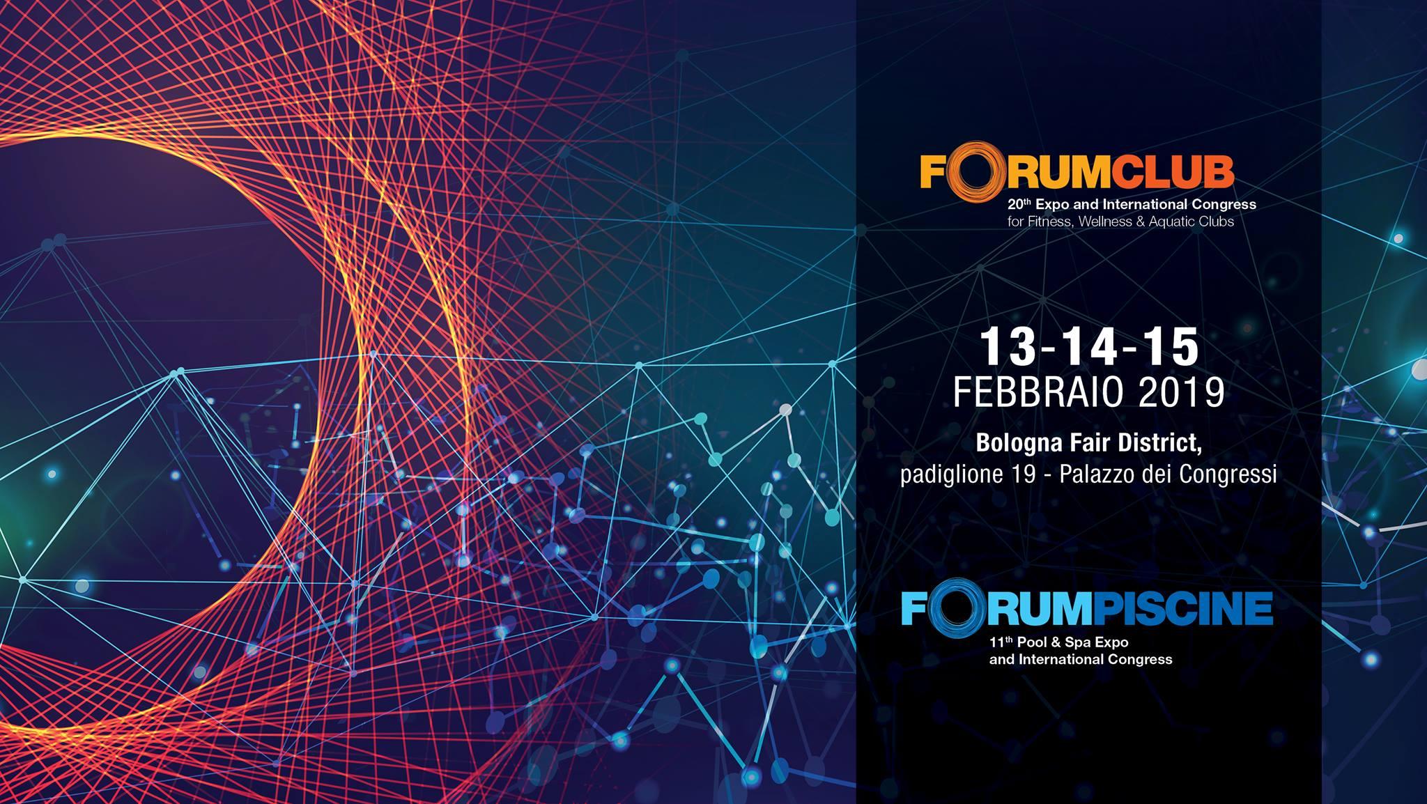 ForumClub 2019: ricco programma per la ventesima edizione.