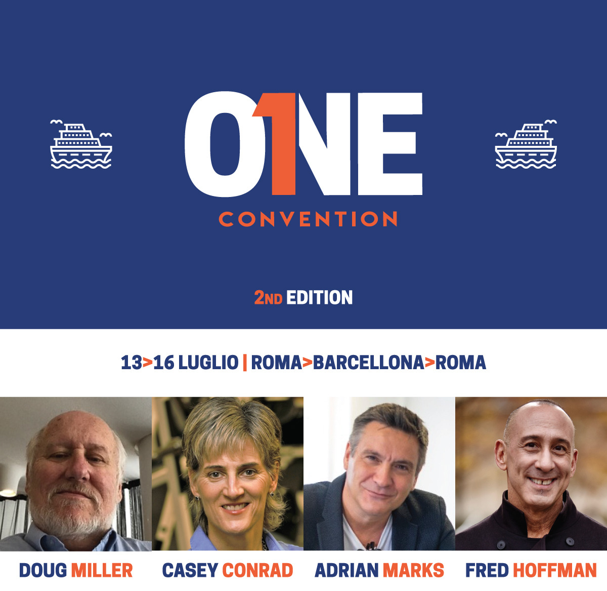 Fitness Lab ti invita a bordo della One Convention!