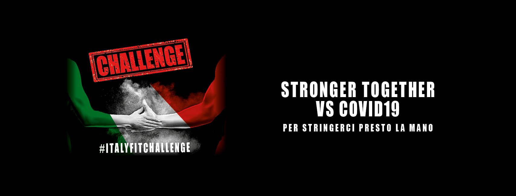 Italy Fit Challenge: il mondo del fitness unito contro il Covid-19