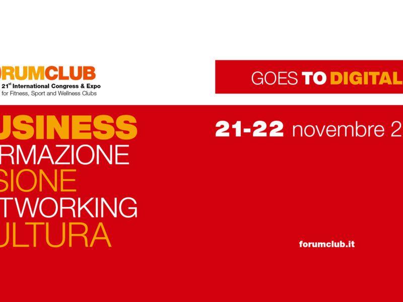 ForumClub Digital Live 21-22 novembre 2020